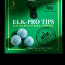 NEW Elkmaster ELK- PRO TIPS Snooker Pool Billiard Cue Ball Tips 9 - 9.5 -10-11mm